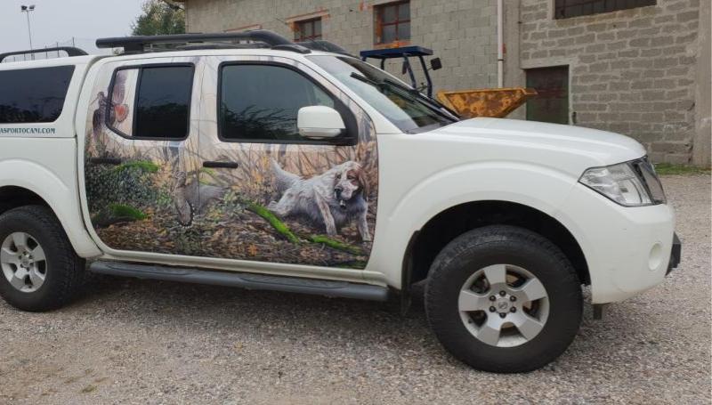 Noleggio furgoni trasporto cani – Nissan Navara_1