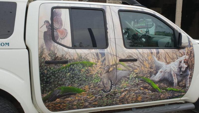 Noleggio furgoni trasporto cani – Nissan Navara_3