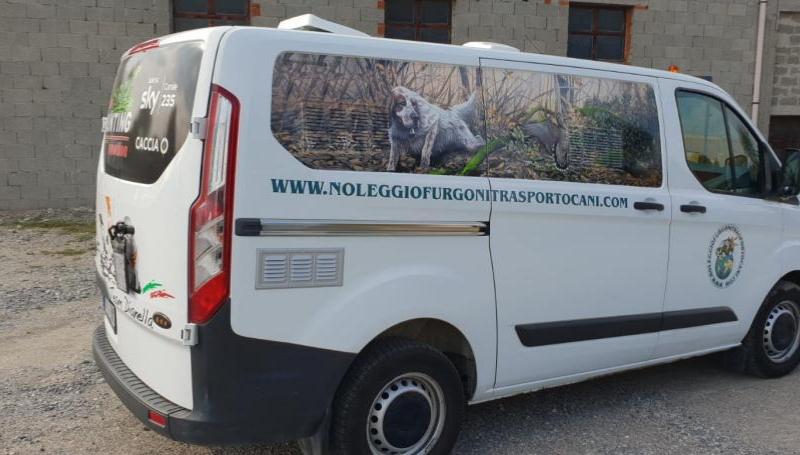 Ford Custom – Noleggio furgoni trasporto cani_3