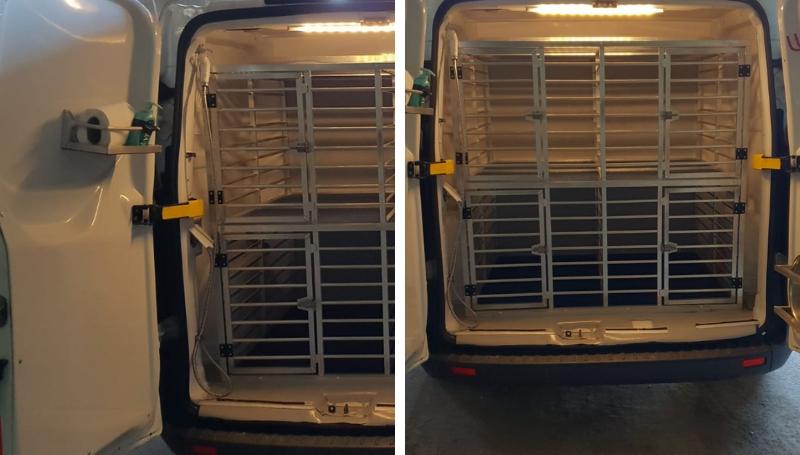 Ford Custom – Noleggio furgoni trasporto cani